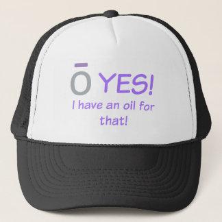 Boné O SIM! Eu tenho um chapéu do camionista do óleo