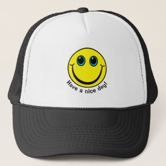 Boné O smiley face tem um dia agradável