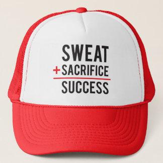 Boné O suor mais o sacrifício iguala o sucesso -