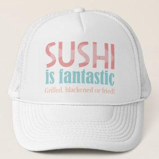 Boné O sushi é fantástico!