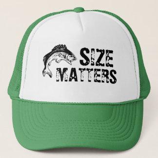 Boné O tamanho importa chapéu da pesca da perda