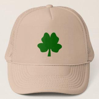 Boné O trevo da Quatro-Folha para o chapéu da sorte