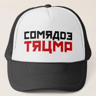 """Boné O trunfo suga o chapéu: """"Camarada Trunfo """""""