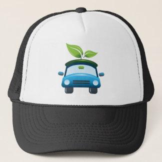 Boné O vencedor do prêmio vai chapéu verde do carro
