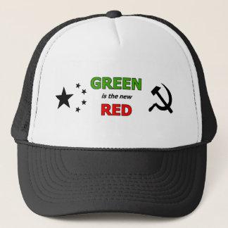Boné O verde é o chapéu vermelho novo