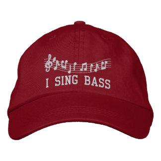 Boné O vermelho bordou-me canta o chapéu baixo da