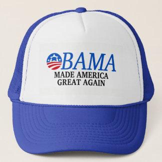 Boné Obama fez o excelente de América outra vez