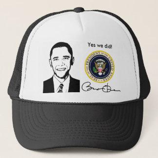 Boné Obama sim nós fizemos o chapéu
