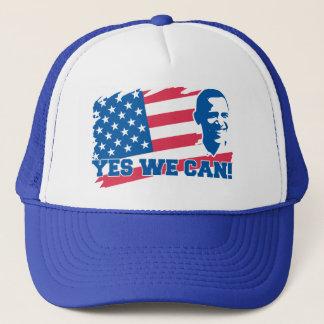 Boné Obama sim nós podemos chapéu do camionista