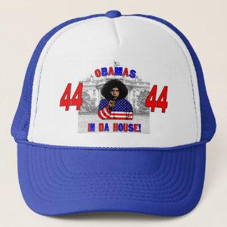 Boné Obamas no chapéu da casa da Dinamarca