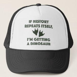 Boné Obtendo um dinossauro