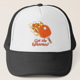 Boné Obteve ao Kahoonas sibilo flamejante Pong