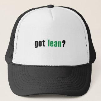 Boné Obtido magro?  Seis chapéus do sigma
