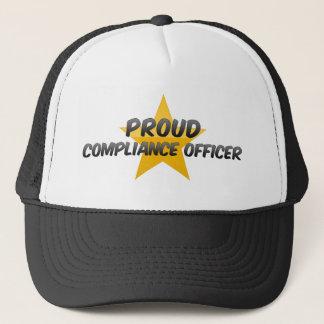 Boné Oficial orgulhoso da conformidade