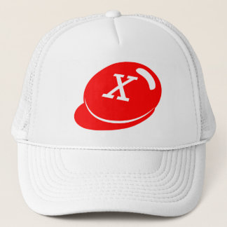 Boné Oficial X-OUT (chapéu branco)