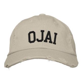 Boné Ojai bordou o chapéu