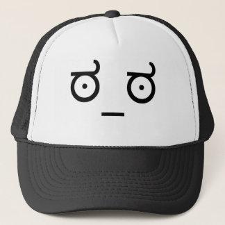 Boné Olhe do chapéu da desaprovação