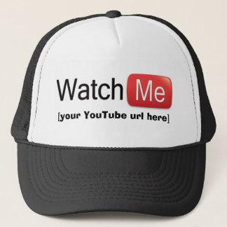 Boné Olhe-me em YouTube (básico)