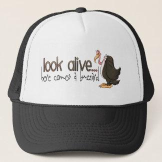 Boné Olhe o chapéu vivo dos desenhos animados do