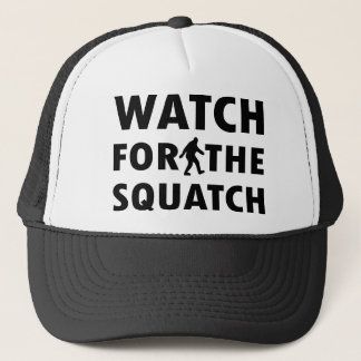 Boné Olhe para Squatch