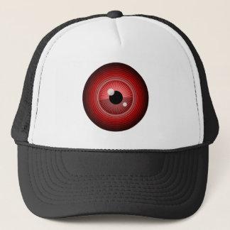 Boné Olho vermelho mágico mau do diabo