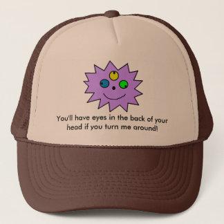 Boné Olhos no chapéu traseiro