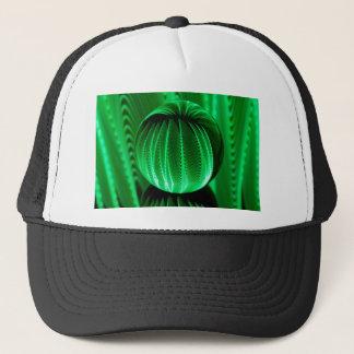 Boné Ondas verdes na bola de vidro