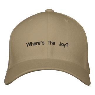 Boné Onde está a alegria?