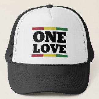 Boné One Rastafara love Cap - reggae -
