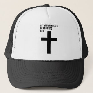 Boné Oração: Deixe seus pedidos ser sabido ao deus