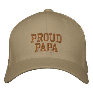 Boné orgulhoso da papá
