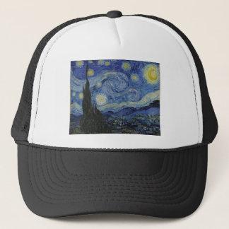 Boné Original a pintura da noite estrelado