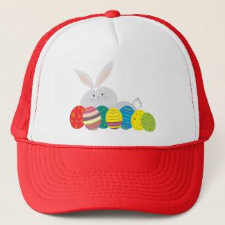 Boné Ornamentado colorido dos ovos bonitos dos desenhos