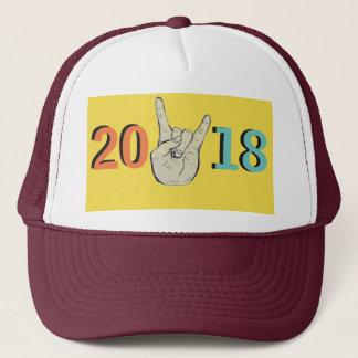Boné Os 2018 anos novos/graduação