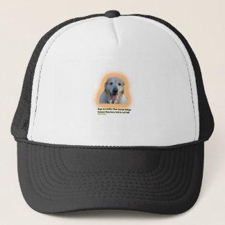 Boné Os cães são melhores do que seres humanos