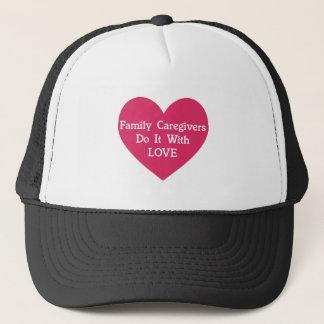 Boné Os cuidadors de família fazem-no com amor