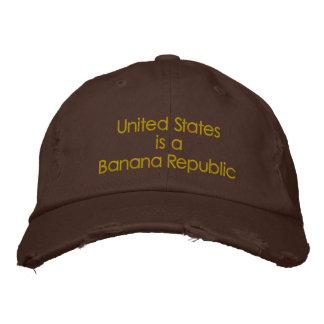 Boné Os Estados Unidos são uma Banana Republic