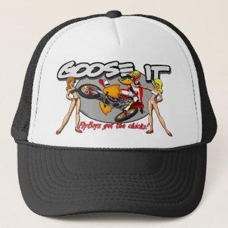 Boné Os Flyboys obtêm aos pintinhos o chapéu