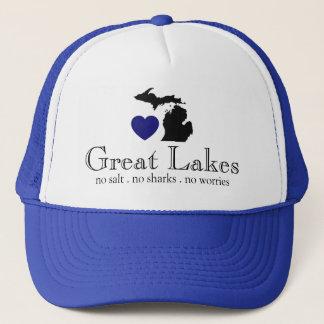 Boné Os grandes lagos
