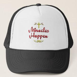 Boné Os milagre acontecem