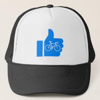 Boné Os polegares levantam o ciclismo