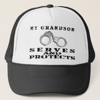 Boné Os saques do neto protegem - o chapéu