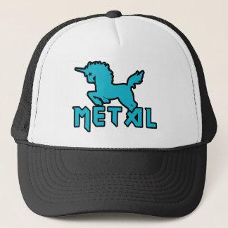 Boné Os unicórnios engraçados são metal