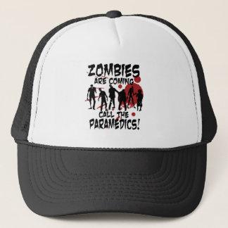 Boné Os zombis são chamada de vinda os paramédicos