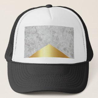 Boné Ouro concreto #372 da seta