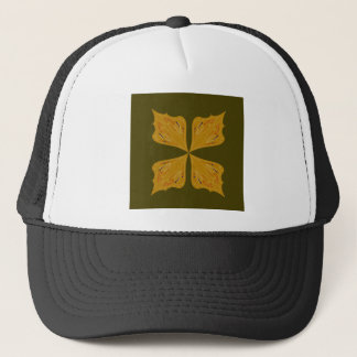 Boné Ouro das mandalas na azeitona
