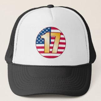 Boné Ouro de 17 EUA