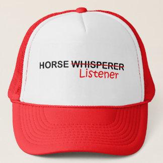 Boné Ouvinte do cavalo