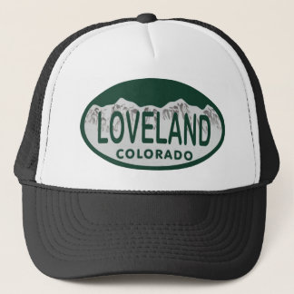 Boné Oval da licença de Loveland