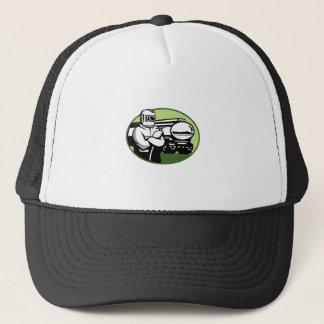 Boné Oval do caminhão de petroleiro do soldador do Tig